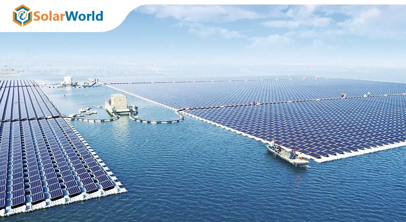 Floating Solar Panels are in the News