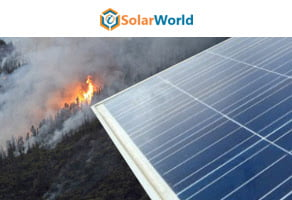 Solar is the Solution to Avert Wildfires