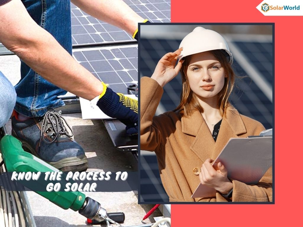 Starting from scratch? Expertise information about contacting Solar installers & required equipment to go solar
