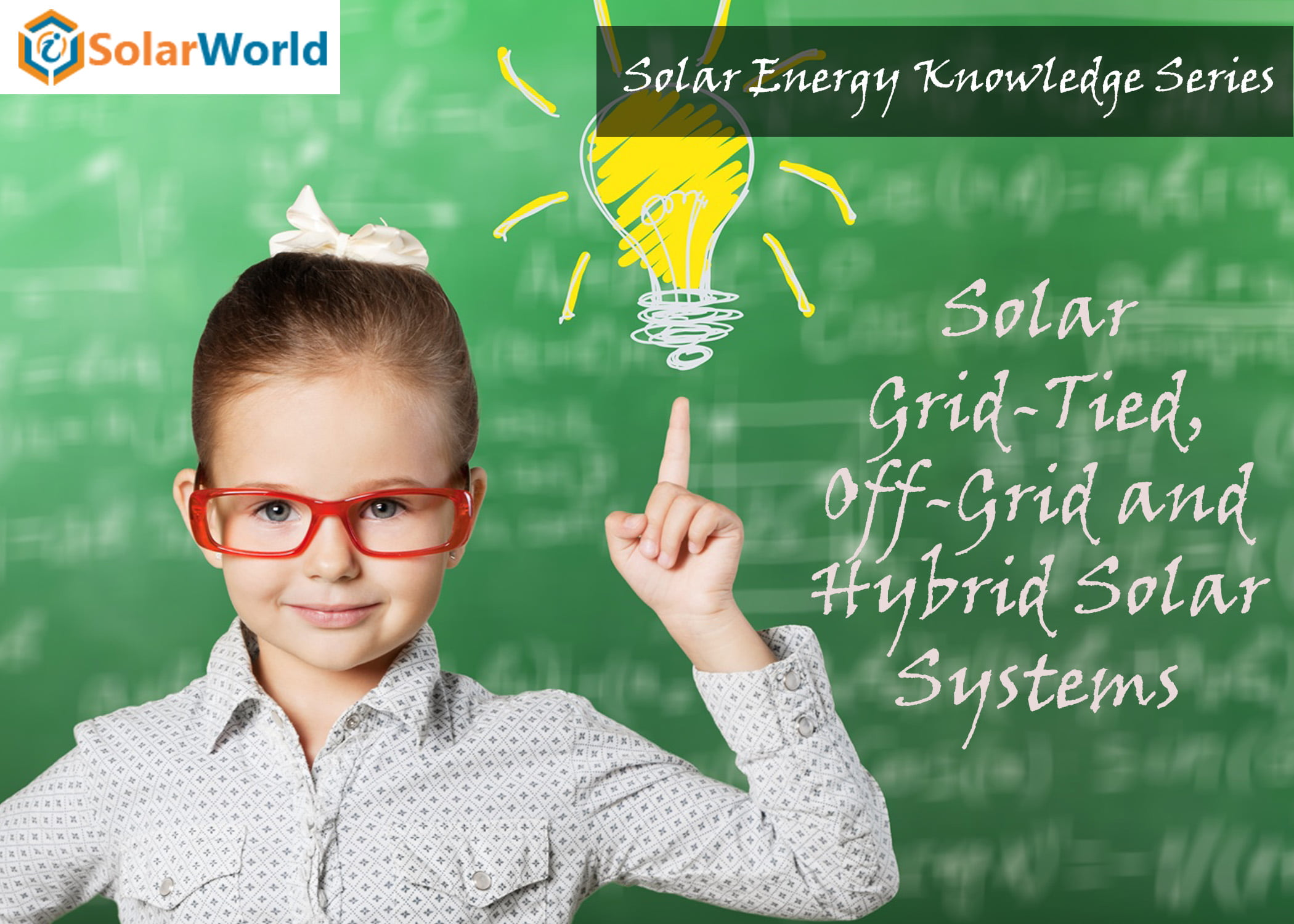 Solar energy knowledge series: Solar Grid-Tied, Off-Grid System and Hybrid Solar Systems