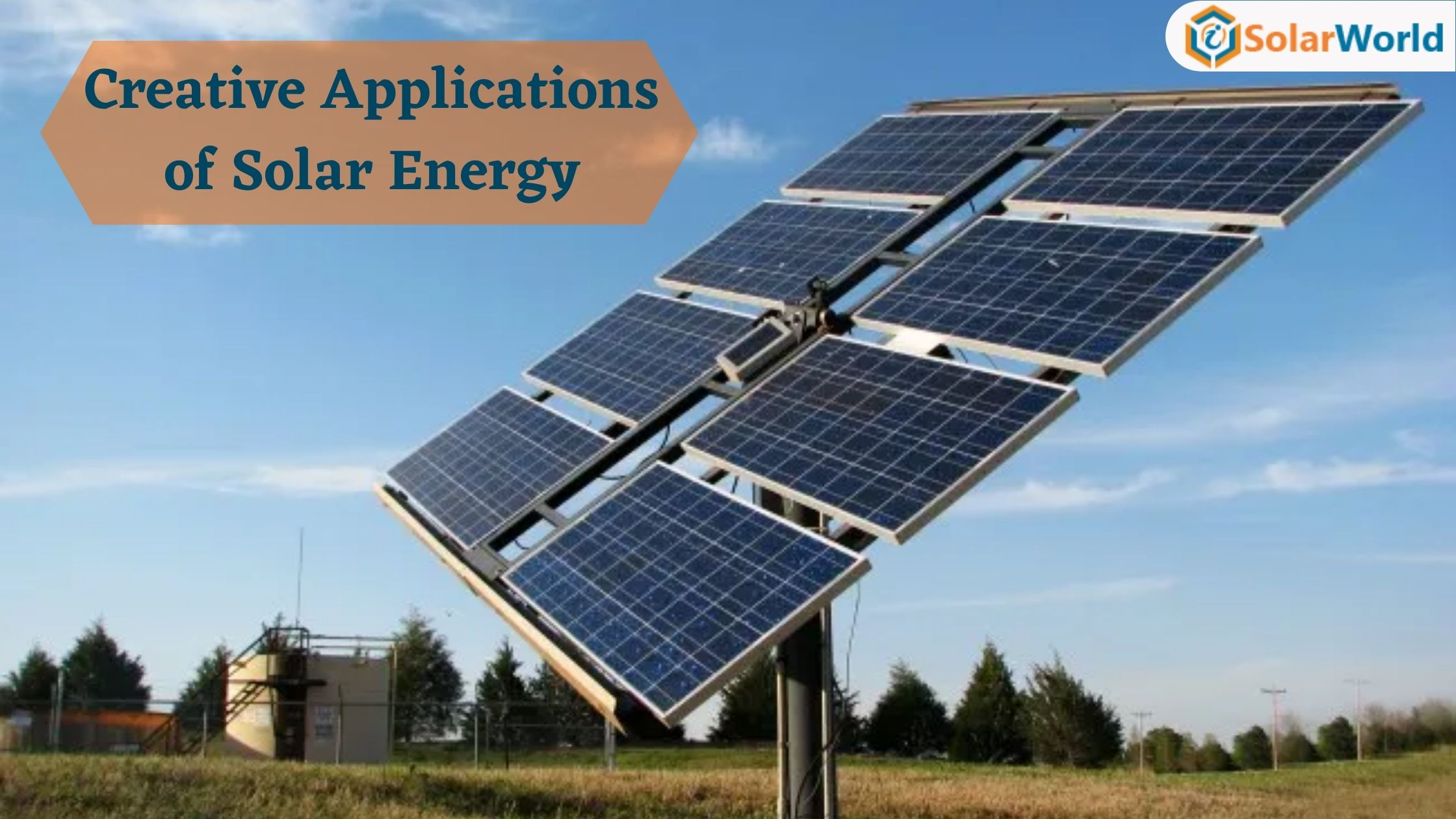 Innovation and evolution are making the world more energy-efficient and beautiful place. Let's see the Creative Applications of Solar Energy
